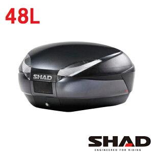 D0B48300SH48トップケースダークグレーSHAD(シャッド)ダークグレー1個