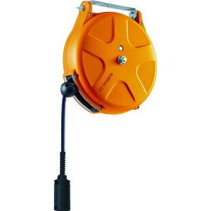 取寄 SHS213SAOR エアーホースリール(耐スパッタ)内径6.5mm×13m オレンジ TRIENS(トライアンス) 1台