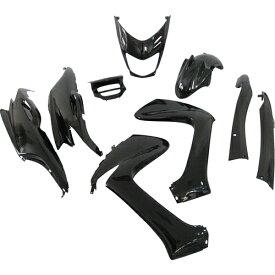 マジェスティ マジェスティ125/FI 外装9点セット ブラック スーパーバリュー ブラック 1セット