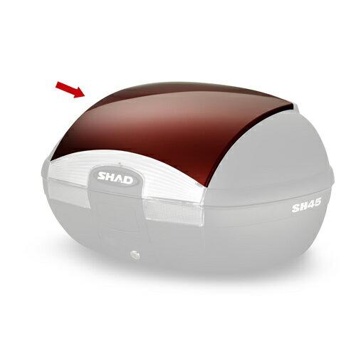 SHAD(シャッド)リアボックス トップケース SH45専用カラーパネル レッド D1B45E09 1枚