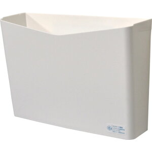取寄 SRPPHW リサイクルペーパーポケット フタなし 白 三菱マテリアル ホワイト 1個