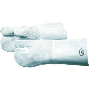 取寄 1111 溶接用3本指手袋 No.2B 富士グローブ 1双