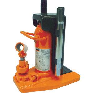取寄 爪式油圧ジャッキ TTJ-2 爪付きジャッキ ハンドル収納タイプ 2t TRUSCO(トラスコ) 爪式油圧ジャッキ 1台