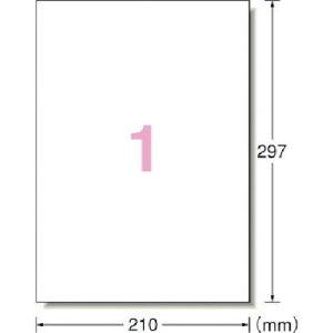 取寄 31047 エーワン 屋外用サインラベル(レーザープリンタ)ツヤ消しフィルム・白 30枚 3M(スリーエム) 1セット