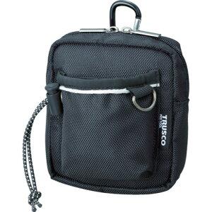 取寄 TCTC1502-BK コンパクトツールケース ワイドポケット ブラック TRUSCO(トラスコ) ブラック 1個