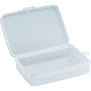 取寄 仕切なしタイプ、ポケットタイプ TPC-160 パーツケース 123×90×36 TRUSCO(トラスコ) クリア 1個