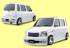 DAMD ダムド エアロ DAMD ダムド エアロ スズキ WAGON R  (ワゴンR) CT/CV  VIP R CIBIE FOG LAMP 2PIECE SET RELAY HARNESS OPTION