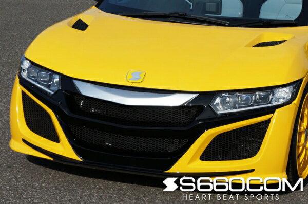 S660 | フロントバンパー【S660コム】S660 SPIDER フロントバンパー メーカー塗分塗装済み