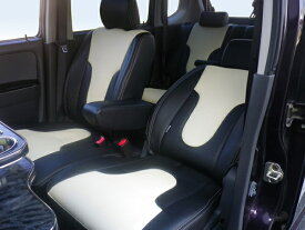 L675S ミラココア | シートカバー【ダティ】ミラ ココア L675S タイプ:X スペシャルコーデ (H24.04〜) シートカバー DEP V-Line カラー:ブルー