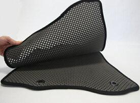 ムーヴ LA150S/LA160S | フロアマット【オートウェア】ムーヴ /ムーヴカスタム LA150/160系 フロアマット モデル:ダブルマット カラー:ダークグレー / 青テープ