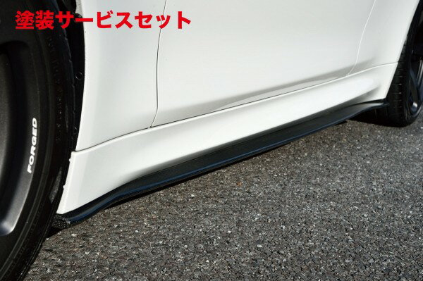★色番号塗装発送BMW M4 F82   サイドステップ【ハイパースタイル】BMW F82 M4 サイドスカート(カーボン)
