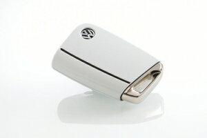 フォルクスワーゲン ゴルフ 7 VW GOLF VII   グッズ キーホルダー【エムプラス】GOLF 7 デコレイティブキーカバー ピュアホワイト(0Q)×ブラックライン