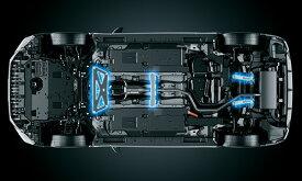 LEXUS CT200h | フロアサポート / メンバーサポート【ティーアールディー レクサス】レクサス CT200h F SPORT 10系 中期(2014/1-2017/7) メンバーブレース