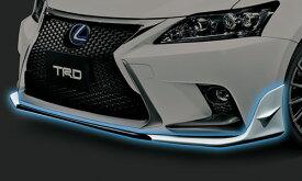 LEXUS CT200h | フロントリップ【ティーアールディー レクサス】レクサス CT200h F SPORT 10系 中期(2014/1-2017/7) フロントスポイラー 塗装済 ブラック (212)