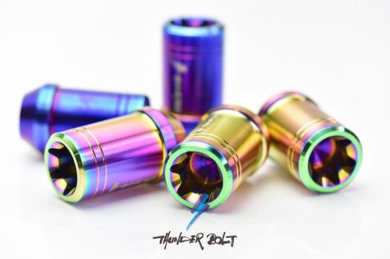 ホイール ナット【サンダーボルト】BE ONE-Series for SUBARU(4hole) ブラスティング
