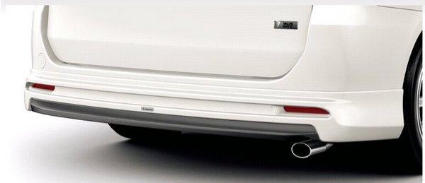 70/75 ノア | リアバンパー【トヨタモデリスタ】ノア 70系 admiration for Si/S リアスカート 2WD メーカー塗装品 ホワイトパールクリスタルシャイン