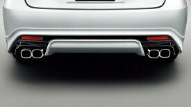 21 クラウン アスリート CROWN ATHLETE | エアロ(リア)/マフラーセット【トヨタモデリスタ】21 クラウンアスリート リアスタイリングキット 3.5L/2.0Lガソリン (アドバンスドパッケージ非装着車) 塗装済 ブラック