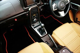 フロアマット【テイクオフ】コペン LA400K AT/MT車 フロアマット 運転席側 ヒールパッド:有 チェッカータイプ:レッド -