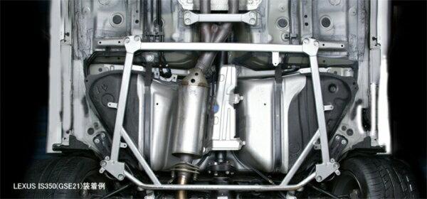 フロアサポート / メンバーサポート【トムス】ボディブレース ハイエース TRH200V H16.8〜 【 ロア・フロント 】