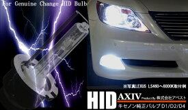 【アベスト】[AXIV]HID交換バルブD2R/D2S TOYOTA トヨタ [ケルビン数]12000K