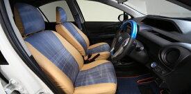 シートカバー【エルエックスモード】アクア 10系 中期 DENIM Interior&Other Parts LX-MODEデニム調シートカバー(1台分セット) 【NHP10】