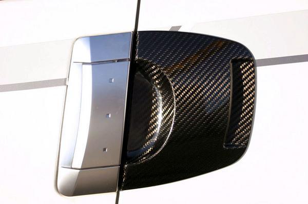 Z33 フェアレディZ | ドアノブ【マインズ】Z33 DRAGLESS CARBON SURROUND