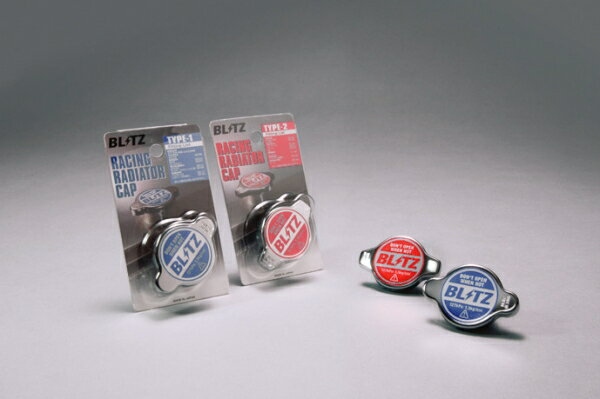 【ブリッツ】RACING RADIATOR CAP TYPE-2 MITSUBISHI トッポBJ (TOPPO BJ) 98/10- H42A,H42V,H47A,H47V 3G83,4A80