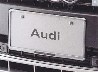 AUDI/아우디 순정 액세서리 라이센스 플레이트 홀더 (크롬) 우 송료 80