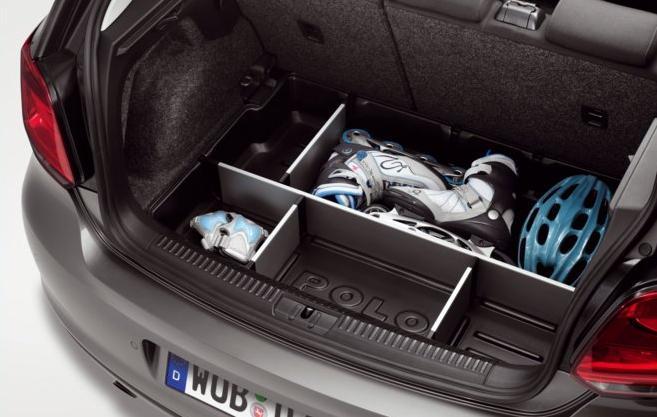 Volkswagen / フォルクスワーゲン / VW純正アクセサリーPOLO / ポロ(6R)ラゲージトレー(ボックスタイプ)送料サイズ240
