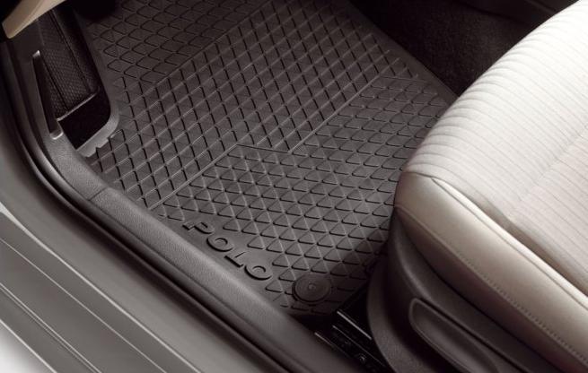 Volkswagen / フォルクスワーゲン / VW純正アクセサリーPOLO / ポロ(6R)ラバーマットフロント用送料60サイズ