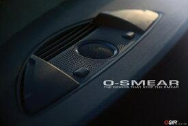 OSIRダッシュベントカバー 2pcsfor Audi TT (8J)/ R8 (O-POD SMEAR) 送料100サイズ