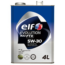 elf/エルフ エンジンオイルEVOLUTION 900 FTX5W30/5W-30 1Lx24本送料100サイズ
