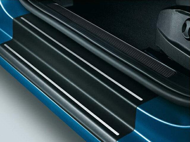 Volkswagen / フォルクスワーゲン / VW純正アクセサリードアシルプロテクションフィルム(ブラック/シルバーライン)GOLF7/ゴルフ7送料サイズ80