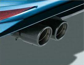 Volkswagen / フォルクスワーゲン / VW純正アクセサリーマフラーカッター/ブラックGOLF7/ゴルフ7送料60サイズ