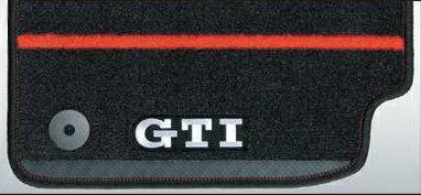 Volkswagen / フォルクスワーゲン / VW純正アクセサリーフロアマット(GTI)GOLF7 GTI/ゴルフ7 GTI送料140サイズ