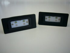 LUXI/ルクシィBMWLEDライセンスプレートライトユニット送料サイズ60