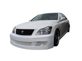 クラウン アスリート GRS 18# フロントバンパー 前期 後期 H15/12〜H20/1 FRP 未塗装 社外品 CROWN ATHLETE トヨタ TOYOTA