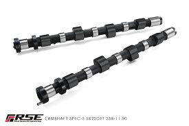 リアルスピードエンジニアリングR.S.E カムシャフト SR20DET RA301#-NS08# IN/EXセット品!