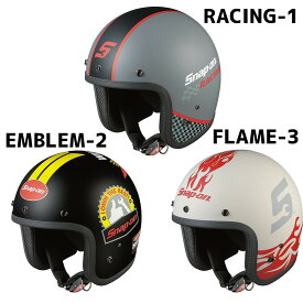 OGK KABUTO(カブト) FOLK Snap-on(フォーク・スナップオン) ストリートジェットヘルメット