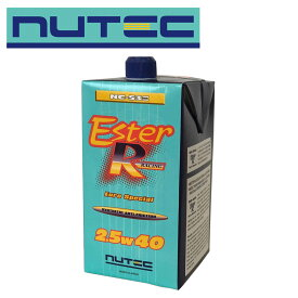 NUTEC(ニューテック) NC-53E 2.5W40 ESTER RACING Euro Special エンジンオイル