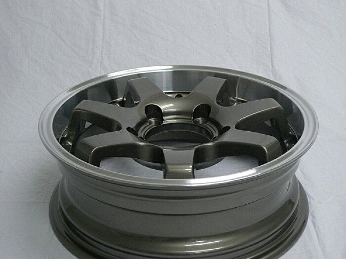 MUDSR7Jimny5.5J+20ガンメタリックジオランダーA/TG015LT225/75R16115/112R4本セット