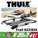 送料無料 THULE スーリー Carrier Baskets キャリアバスケット Trail トレイル L TH824 824 高機能 高剛性 ルーフラック ルーフバスケ…