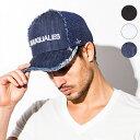 1PIU1UGUALE3 RELAX ウノピゥウノウグァーレトレ USZ-704 EMBROIDERY MESH CAP ロゴ刺繍 メッシュキャップ ブラック / ホワイト / イン…