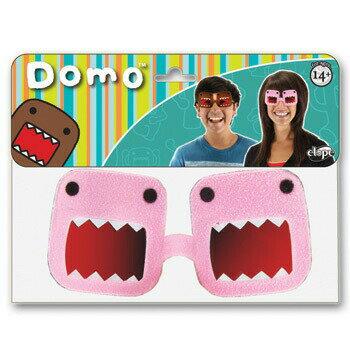 !! エロープ(elope) おもしろメガネ(どーもくん)ピンク [Domo Pink] 【 コスプレ 衣装 ハロウィン パーティーグッズ おもしろ 眼鏡 ハロウィン 衣装 めがね 変装グッズ 面白い プチ仮装 】