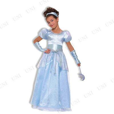 【在庫処分】 シンデレラドレス 子供用(S) ハロウィン 衣装 子供 仮装衣装 コスプレ コスチューム 子ども用 キッズ こども パーティーグッズ 童話 おとぎ話