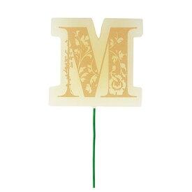 キャンドル ろうそく イニシャルピック M 【 ろうそく 誕生日 イニシャル プレゼント ロウソク イベント用品 クリスマス飾り バースデーパーティー 結婚式二次会 ウェディングパーティー クリスマスパーティー 誕生日パーティー アルファベット パーティー用品 】