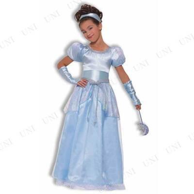 【在庫処分】 シンデレラドレス 子供用 L ハロウィン 衣装 子供 仮装衣装 コスプレ コスチューム 子ども用 キッズ こども パーティーグッズ 童話 おとぎ話