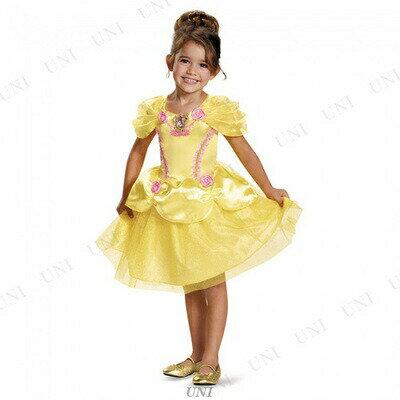 【送料無料】ベル クラシック 子供用 L(4-6x) 衣装 童話 子ども用 ディズニー 仮装 コスプレ パーティーグッズ こども 公式 キッズ ハロウィン 女の子 美女と野獣 コスチューム 正規ライセンス品 おとぎ話