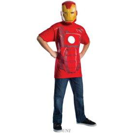 【あす楽12時まで】 コスプレ 仮装 アイアンマンTシャツ 子供用 S 【 コスプレ 衣装 ハロウィン 仮装 子供 シャツ キッズ マーベル グッズ アベンジャーズ MARVEL パーティーグッズ アメコミ こども 映画キャラクター コスチューム 男の子 子ども用 公式 Iron Man 】