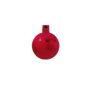 【取寄品】 クリスマス ツリー オーナメント 40mmメタリックボール6個セット 赤(R) 【 デコレーション クリスマスツリー クリスマス飾り パーティーグッズ 装飾 雑貨 ツリー飾り クリスマ